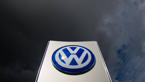 Zeichen bei Volkswagen stehen auf Konfrontation
