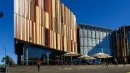 Von wegen Sandstein-Romantik: Die Bibliothek der Macquarie-Universität in Sydney.