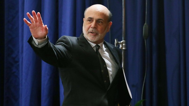 Federal Reserve Chairman Ben Bernanke Holds Monetary Policy News Conference