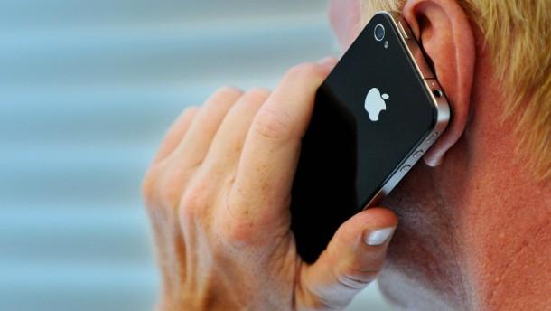 Tumor vom Mobiltelefon