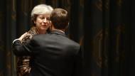 Theresa May und Emmanuel Macron: Wie geht das britisch-europäische Verhältnis weiter?