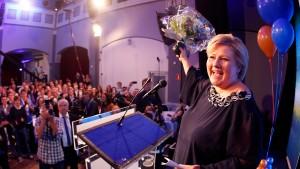 Rechtspopulisten klare Wahlverlierer in Norwegen