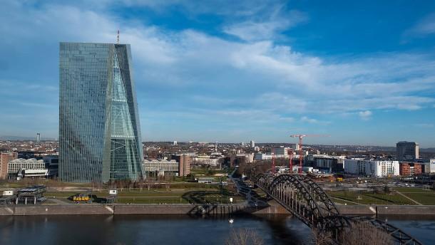 Heimarbeit bei der EZB