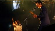 Auftritt der britischen Rockband Arctic Monkeys