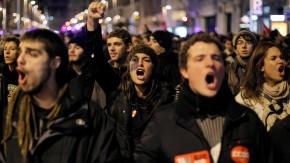 Spain General Strike