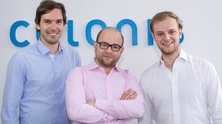 Alexander Rinke, Bastian Nominacher und Martin Klenk