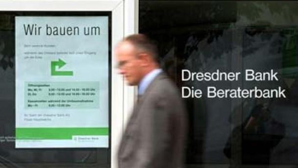 Allianz will Dresdner Bank aufspalten