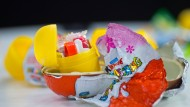 Kinder-Überraschungsei: Von Kindern befüllt?