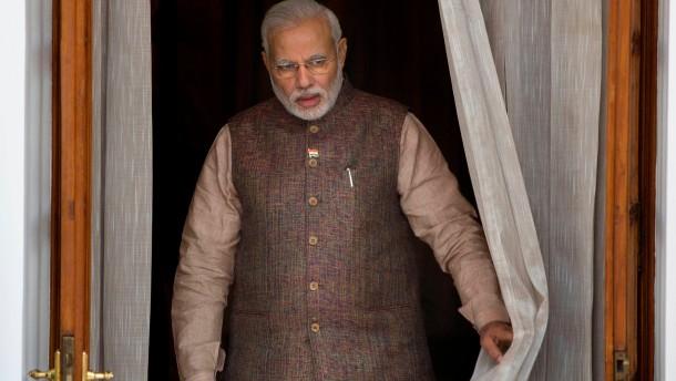 Buhlen um Indien