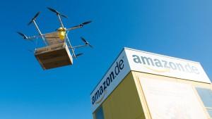 Amazon beklagt fehlende Erlaubnis für Drohnen-Tests