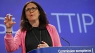 Handelskommissarin Cecilia Malmström