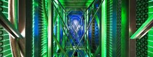 Daten, Daten, Daten - so sieht es in einem Serverzentrum von Google aus.