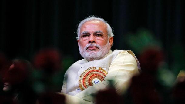 Modi möchte Indiens Ministerpräsident werden