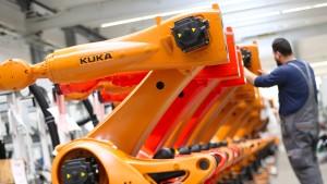 Kuka will mehr Roboter in China bauen