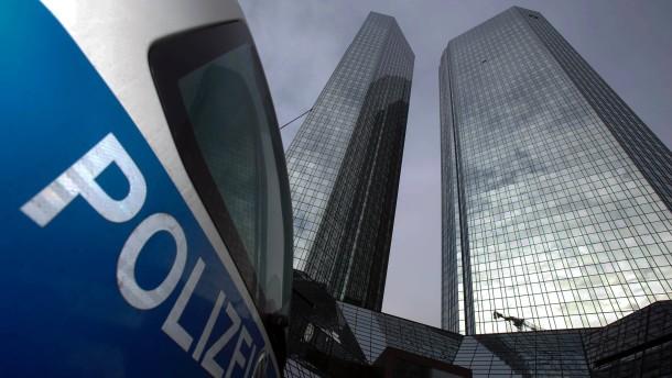 Deutsche Bank soll belastendes Material geloescht haben