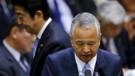 Japans Wirtschaftsminister tritt zurück
