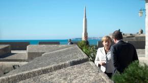 Bundeskanzlerin Merkel besucht Portugal