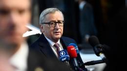 """Juncker zu May: """"Die Uhr tickt"""""""