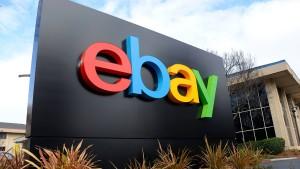 Ebay überprüft seine Struktur