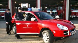 In Bietigheim fährt die Feuerwehr Porsche