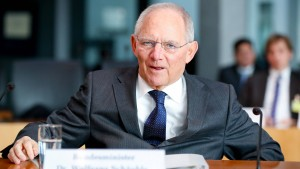 Schäuble: Wir haben schnell gehandelt
