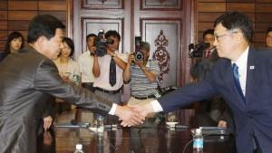 Nord- und Südkorea sprechen wieder