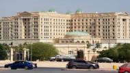Das Ritz-Carlton-Hotel in Riad