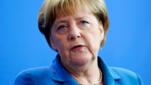 Merkel sieht keine Krise wegen Italiens Problembanken