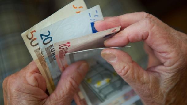 Die Rentenerhöhung geht in Ordnung