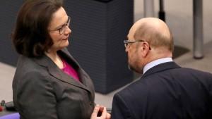 Geht es für die SPD wieder aufwärts?