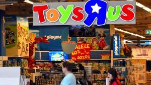 Iren bieten für deutsches Geschäft von Toys ,R' Us