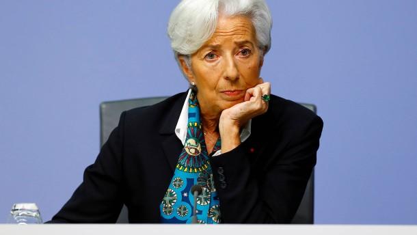 Lagarde setzt Signale