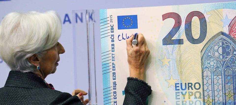 Jetzt unterschreibt die neue Chefin: EZB-Präsidentin Christine Lagarde