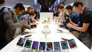 Vielleicht wächst der Smartphone-Markt in diesem Jahr erstmals einstellig.