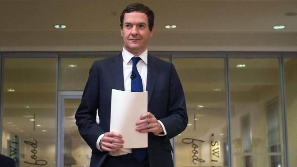 Finanzminister kündigt höhere Steuern an