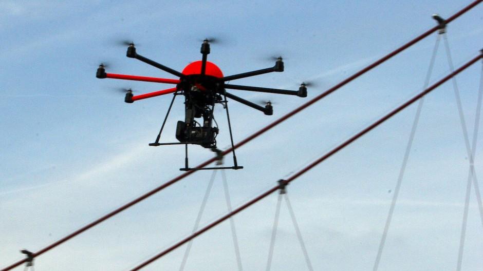 Drohnen werden vielfach für Fotos genutzt.