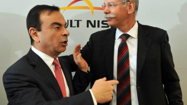 Ein Zweckbündnis für Daimler