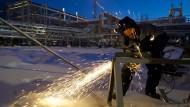 Milliardengeschäft zwischen BASF und Gasprom