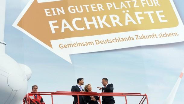 Wirtschaft umwirbt deutsche Fachkräfte
