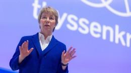 Thyssen-Krupp geht in neue Ära