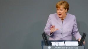 Merkel: Briten sollen sich keine Illusionen machen