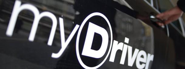 Mydriver ist ein Limousinen-Service, aber kein Taxi-Betrieb.