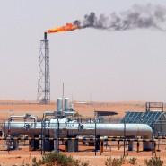 Läuft auf Hochtouren: Ölproduktion in Saudi-Arabien