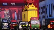 In China stocken Handel und Wachstum