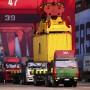 Der Export brummt nicht mehr: Aufs Jahr gerechnet hat die größte Handelsnation China einen Rückgang ihres Exportvolumens erlebt.