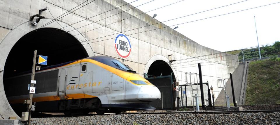 Frankfurt London Bahn