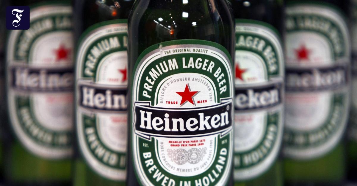 Heineken baut 8000 Stellen ab - FAZ - Frankfurter Allgemeine Zeitung