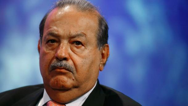 Mexikaner Slim bleibt reichster Mann der Welt
