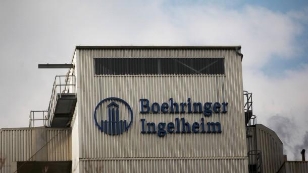 Boehringer will in Deutschland 1000 Stellen abbauen