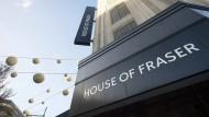"""Die Filiale von """"House of Fraser"""" an der Londoner Oxford Street."""